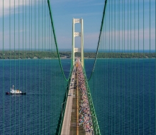 2016 Mackinac Bridge Walk