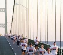 2008 Mackinac Bridge Labor Day Run/ Walk