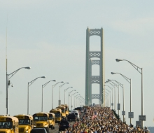 2008 Mackinac Bridge Labor Day Run/ Walk