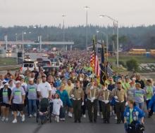 2009 Mackinac Bridge Labor Day Walk.