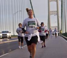 Mackinac Bridge Walk and Run 2011.