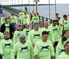 Mackinac Bridge Walk and Run 2011.
