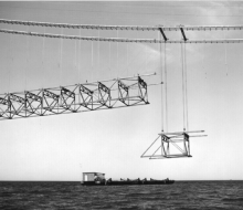 Lifting truss - June 20, 1957
