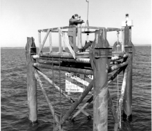 Survey platform -October 21, 1954