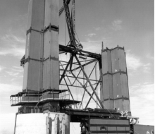 Tower construction - August 9, 1955