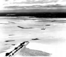 Winter pause - January 18, 1955