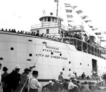 City of Cheboygan - 1937