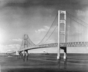 History of the Bridge, Mackinac Bridge
